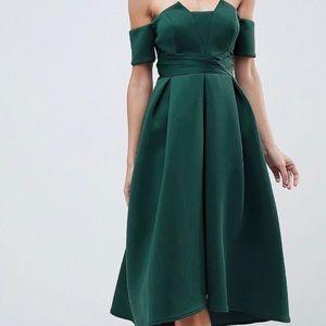 ASOS Pleated Scuba Dress